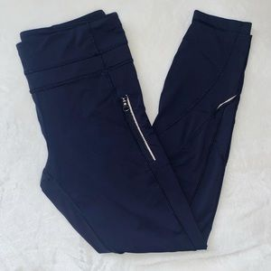Lululemon Crops with Zipper Pockets
